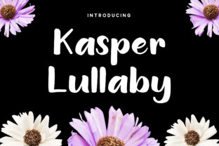 Kasper Lullaby Font By RezaDesign