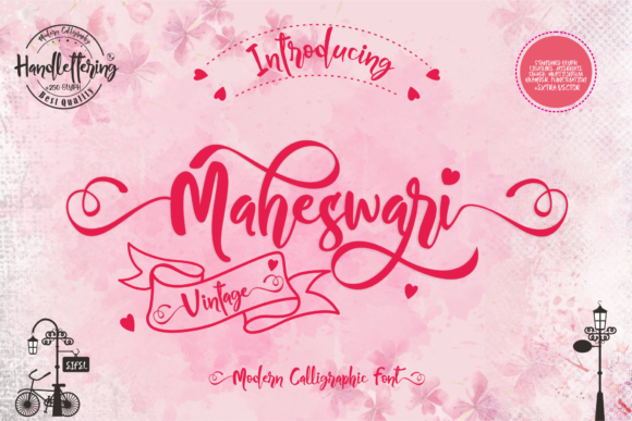 Print on Demand: Maheswari Script & Handwritten Font By creativework69