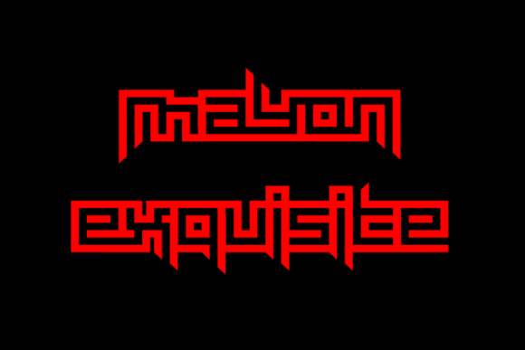 Print on Demand: Mayon Exquisite Display Font By EyeCone