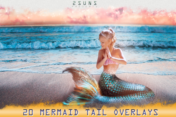 Mermaid Tail Overlays Graphic Objects By 2SUNS