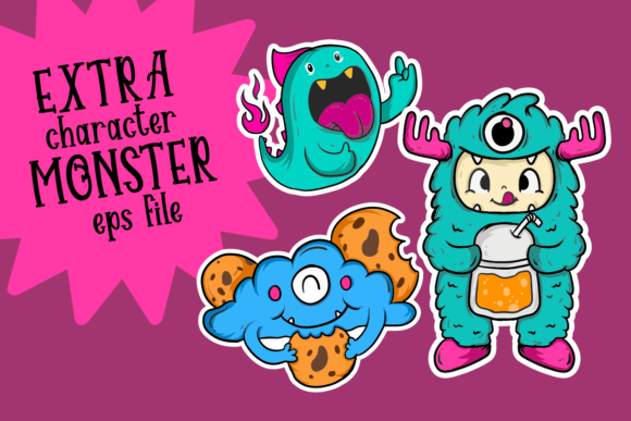 Monster Sweetness Font By Dreamink (7ntypes) Image 6