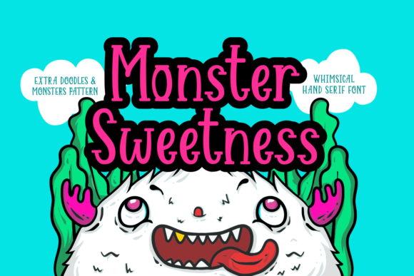 Print on Demand: Monster Sweetness Serif Fuente Por Dreamink (7ntypes)