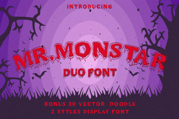Print on Demand: Mr. Monstar Display Font By Juncreative - Image 10