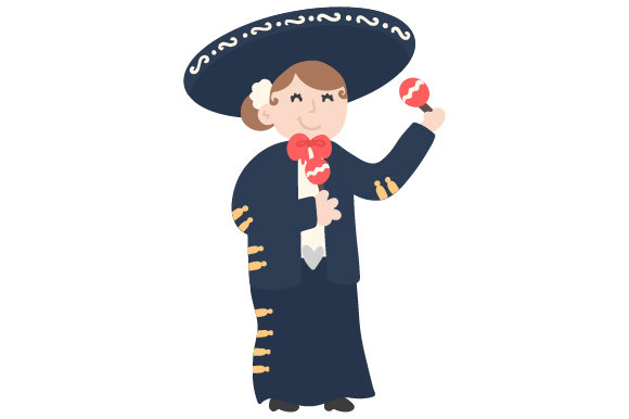 Download Free Mariachi Lady Svg Cut File By Creative Fabrica Crafts Creative for Cricut Explore, Silhouette and other cutting machines.