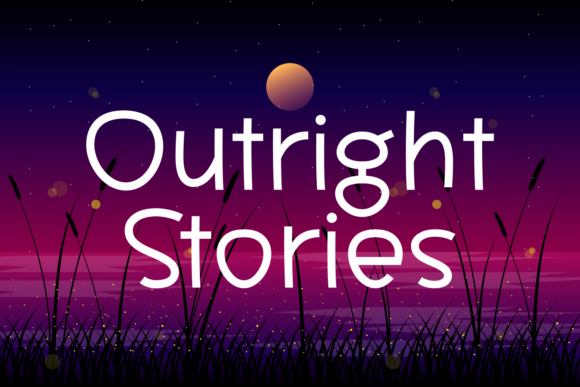 Print on Demand: Outright Stories Script & Handwritten Font By Situjuh - Image 1