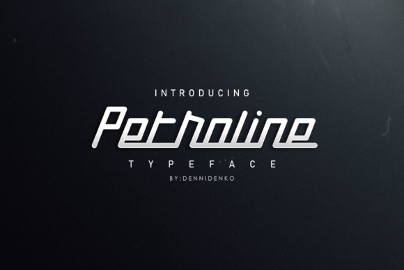 Print on Demand: Petroline Script & Handwritten Font By dennidenko