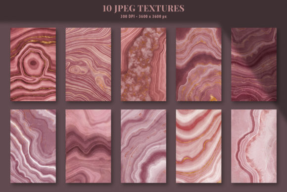 Download Free Pink Agate Illustrations Textures Graphic By Catjello Graphics for Cricut Explore, Silhouette and other cutting machines.