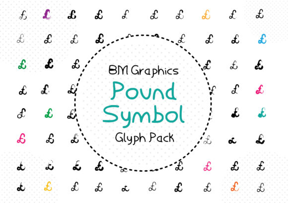 Print on Demand: BM Graphics - Pound Symbol Dingbats Font By GraphicsBam Fonts - Image 1