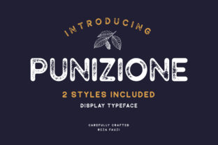 Print on Demand: Punizione Sans Serif Font By Grezline Studio