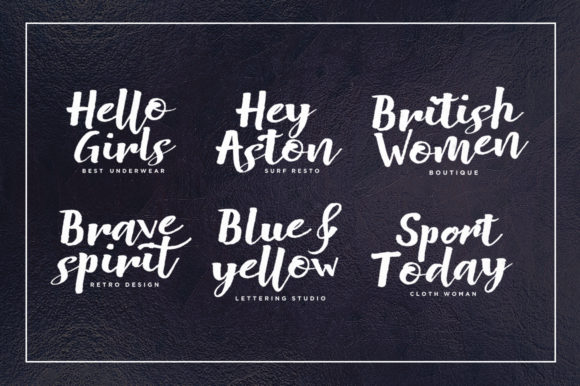 Push Thing Font By Stripes Studio Image 5