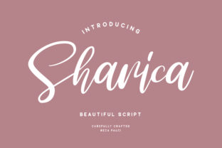 Sharica Font By RezaDesign