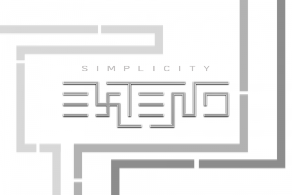 Print on Demand: Simplicity Extend Display Font By EyeCone - Image 4