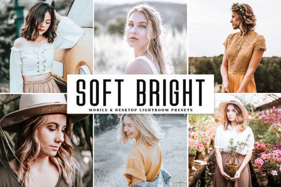 Soft Bright Lightroom Presets Pack Graphic By Creative Tacos