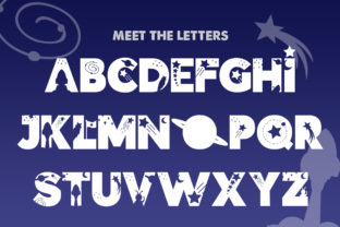 Print on Demand: Space Display Font By Salt and Pepper Fonts 2