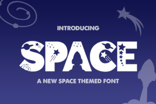 Space Font By Salt & Pepper Designs