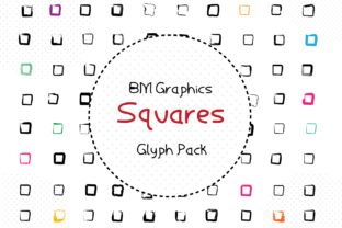 Print on Demand: BM Graphics - Squares Dingbats Font By GraphicsBam Fonts