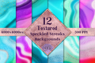 Textured Speckled Streaks Backgrounds Graphic By SapphireXDesigns