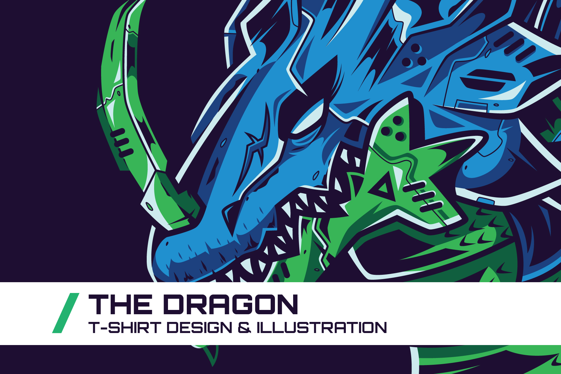 Download Free The Dragon T Shirt Illustration Graphic By Dankudraw Creative SVG Cut Files