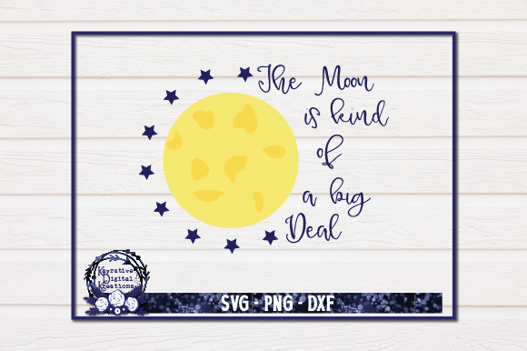 Download Free Mood By Moon Full Moon Svg Full Moon Graphic By Kayla Griffin for Cricut Explore, Silhouette and other cutting machines.