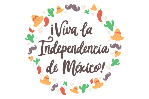 Download Free Viva La Independencia De Mexico Svg Cut File By Creative Fabrica for Cricut Explore, Silhouette and other cutting machines.