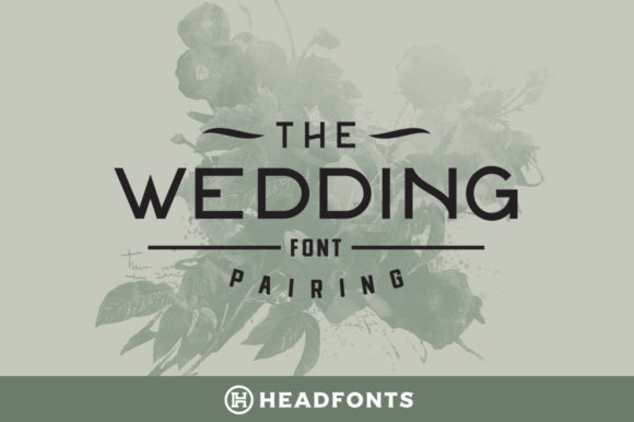 Print on Demand: Wedding Family Display Font By Headfonts