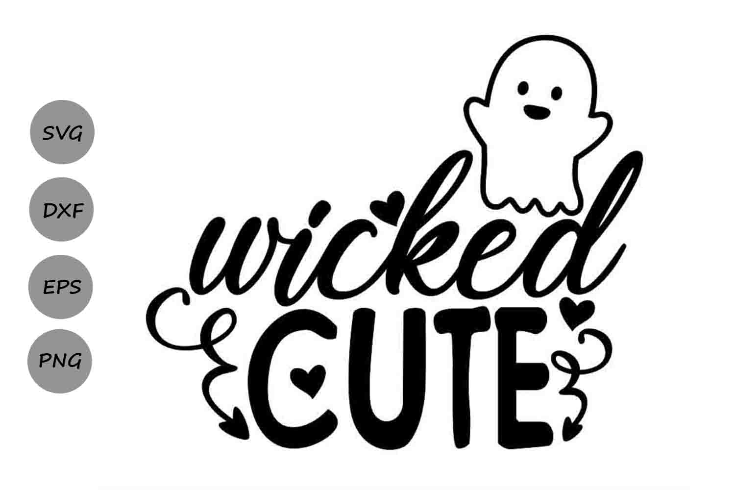 Download Free Wicked Cute Graphic By Cosmosfineart Creative Fabrica SVG Cut Files