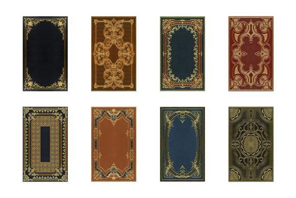 20 Decorative Book Covers Graphic Backgrounds By BlackLabel - Image 2