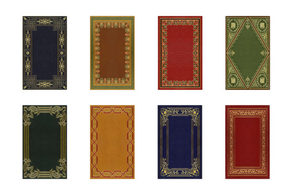 20 Decorative Book Covers Graphic Backgrounds By BlackLabel - Image 4