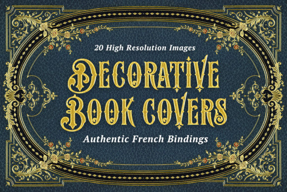 20 Decorative Book Covers Graphic Backgrounds By BlackLabel - Image 1