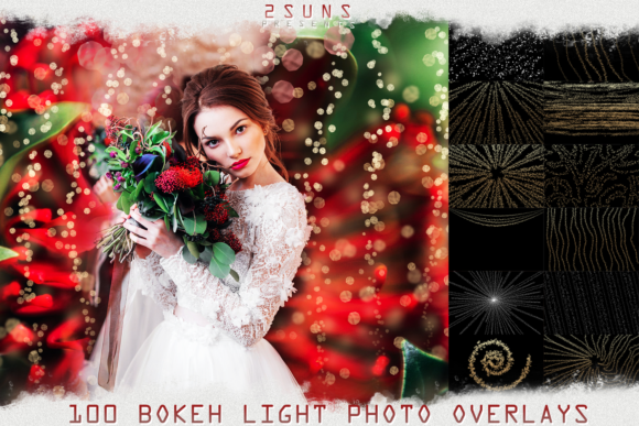 100 Wedding Sparklers Photoshop Overlays Graphic Layer Styles By 2SUNSoverlays