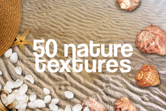 Download Free 50 Nature Textures Beach Grass Rocks Sea Graphic By 2suns for Cricut Explore, Silhouette and other cutting machines.