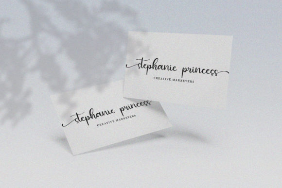 Print on Demand: Agatha Script & Handwritten Font By Juncreative - Image 5