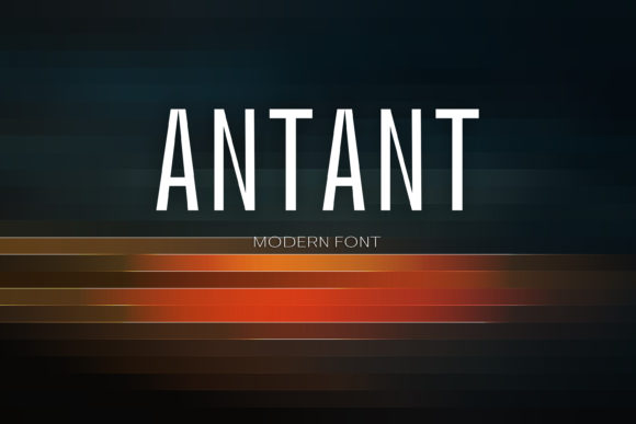 Print on Demand: Antant Sans Serif Font By maxim.90.ivanov