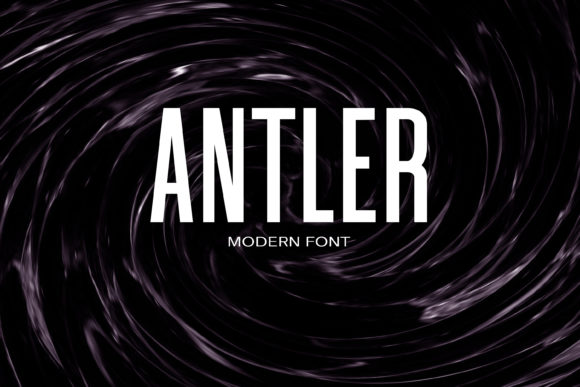 Print on Demand: Antler Sans Serif Font By maxim.90.ivanov