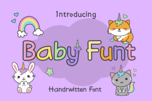 Print on Demand: Baby Funt Display Font By LetterBeary