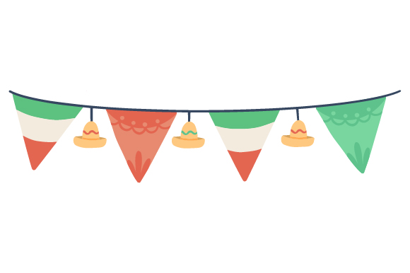 Download Free Mexican Banner Svg Cut File By Creative Fabrica Crafts for Cricut Explore, Silhouette and other cutting machines.