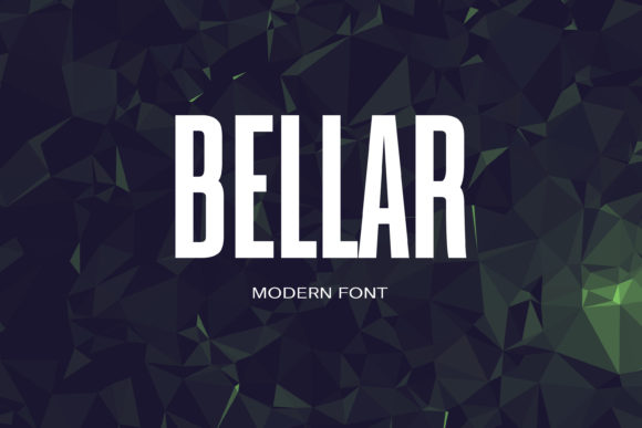 Print on Demand: Bellar Sans Serif Font By maxim.90.ivanov