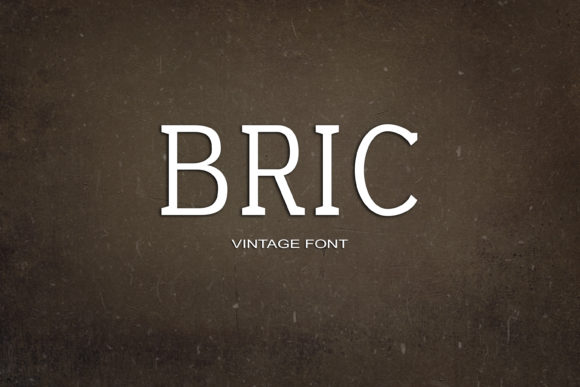 Print on Demand: Bric Serif Font By maxim.90.ivanov