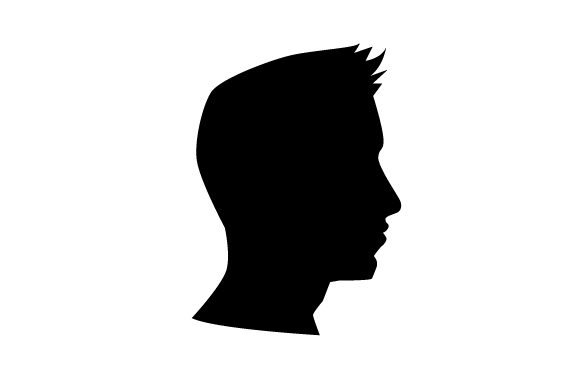 Download Free Cameo Of Man With Spiked Hair Svg Cut File By Creative Fabrica for Cricut Explore, Silhouette and other cutting machines.