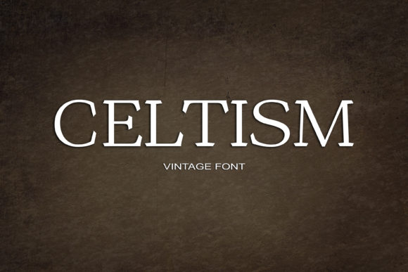 Print on Demand: Celtism Serif Font By maxim.90.ivanov - Image 1