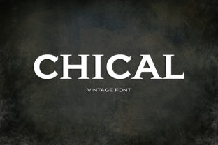 Chical Font By maxim.90.ivanov
