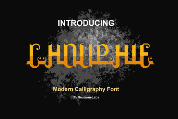 Print on Demand: Chouphie Script & Handwritten Font By NeutroneLabs