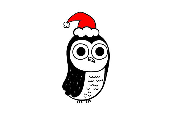Download Free Christmas Owl Svg Cut File By Creative Fabrica Crafts Creative for Cricut Explore, Silhouette and other cutting machines.
