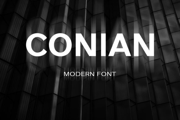 Print on Demand: Conian Sans Serif Font By maxim.90.ivanov