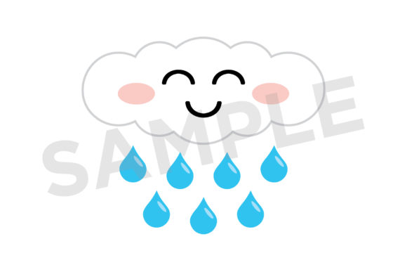 Cute Weather Clip Art Set Graphic By Running With Foxes Image 8