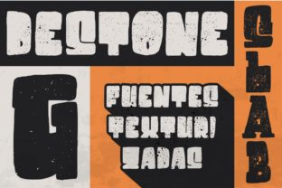 Destone Font By Garisman Studio