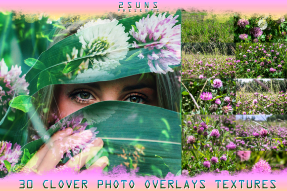 Download Textures Clover Overlays Flower Graphic Layer Styles By 2SUNS