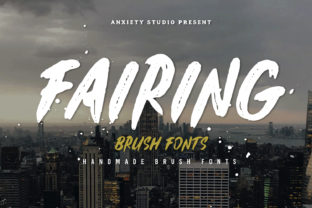 Fairing Font By lickermelody