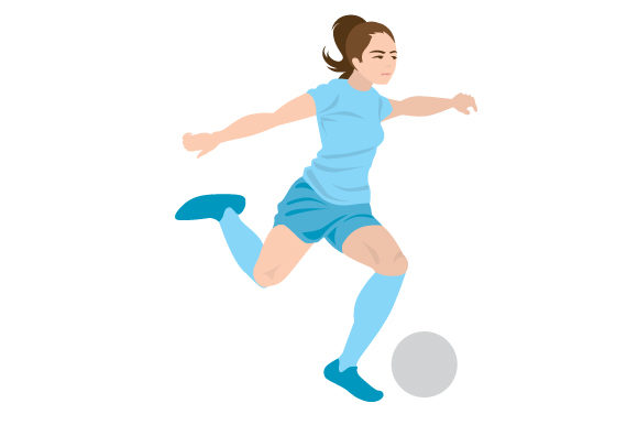 Download Free Female Soccer Shot Svg Cut File By Creative Fabrica Crafts for Cricut Explore, Silhouette and other cutting machines.