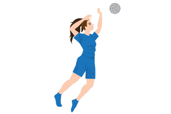 Download Free Female Volleyball Spike Svg Cut File By Creative Fabrica Crafts for Cricut Explore, Silhouette and other cutting machines.